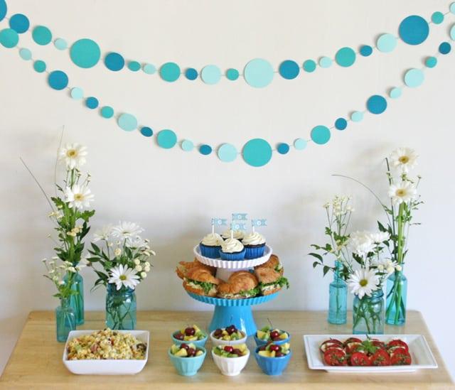 Polkd dot party garland