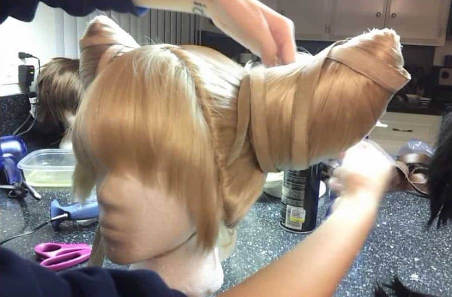 Viola wig from Eternal Sonata styling