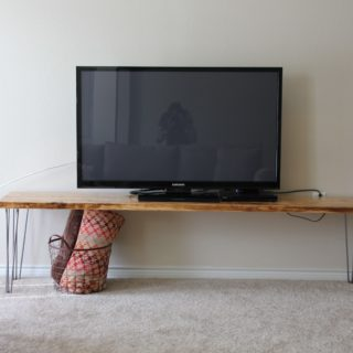 Reinvent Your Living Room With the Best DIY Television Stands!