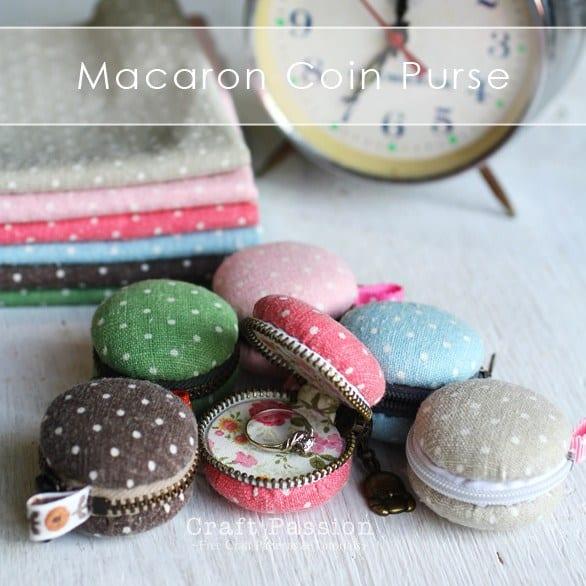 Zipping macaron ring box