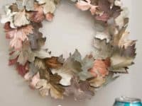 Beautiful pop can fall leaf wreath 200x150 Recycle for a Greener Tomorrow: Amazing Things to Do with Empty Tin Cans