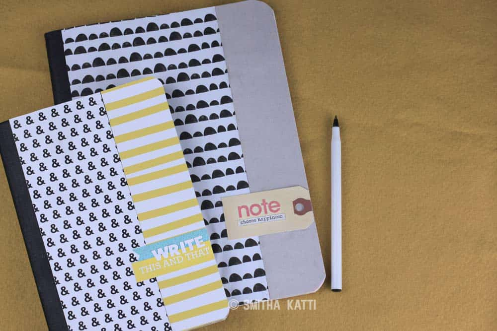Customized composition books