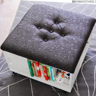 Comfort, Storage and Class: Awesome DIY Ottoman Coffee Tables