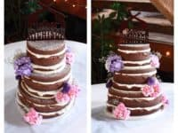 Decorative wedding cake tutorial 200x150 Time for a Budget Celebration: 15 DIY Wedding Decorations
