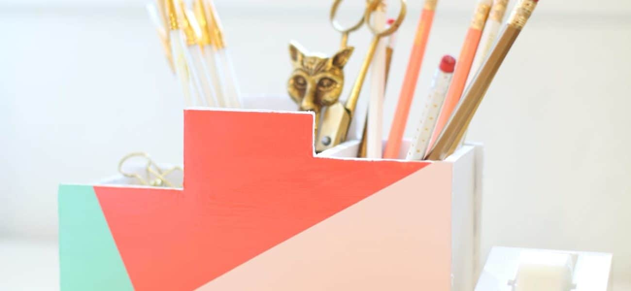 For a More Organized Workspace: Smart DIY Desk Organizers