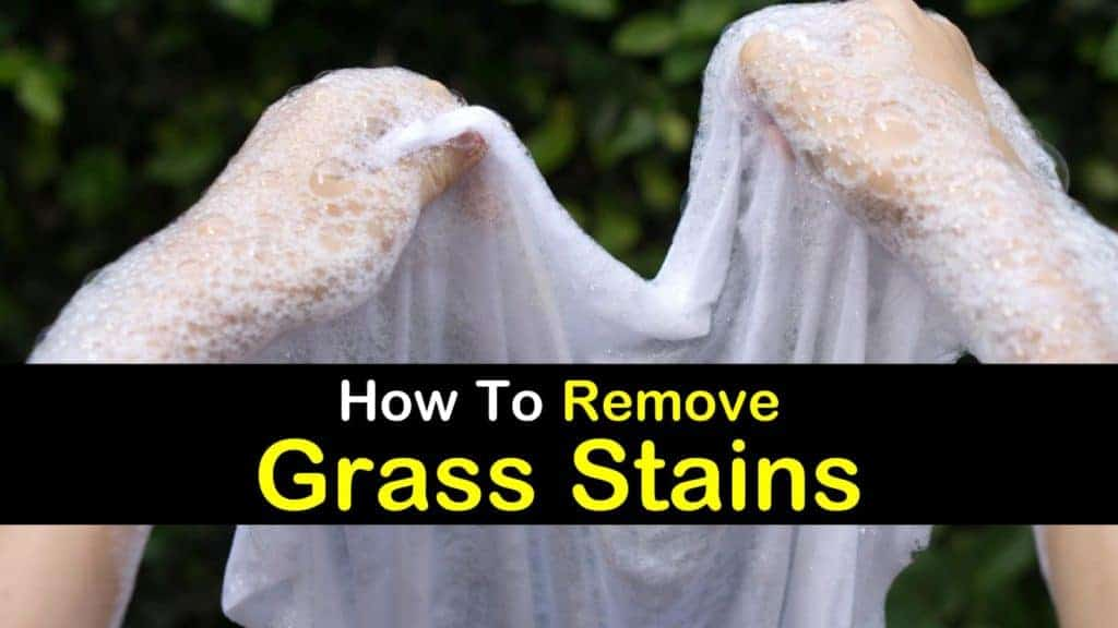 Getting rid of grass stains