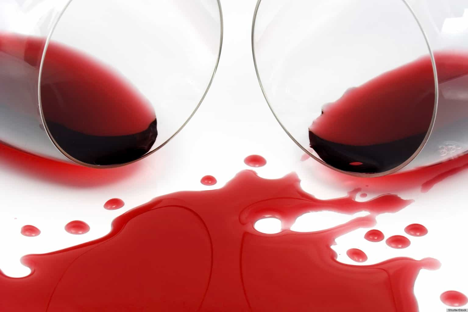 Getting rid of wine stains