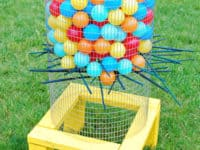 Jumbo backyard Kerplunk 200x150 Fun Family Time for Spring and Beyond: Homemade Outdoor Games