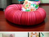 Air tire floor cushion 200x150 Riding the Upcycling Bandwagon: How to Make Good Use of Old Tires