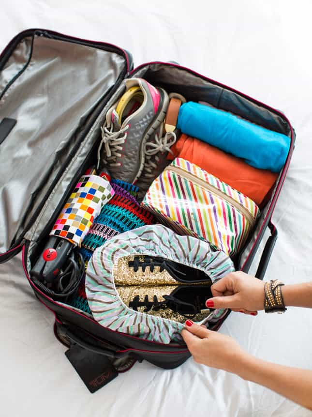 Best ways to pack your shoes