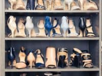 Bookshelf as a pumps and heels shelf 200x150 Smart Storage: Closet Hacks for More Storage, Even in Small Spaces
