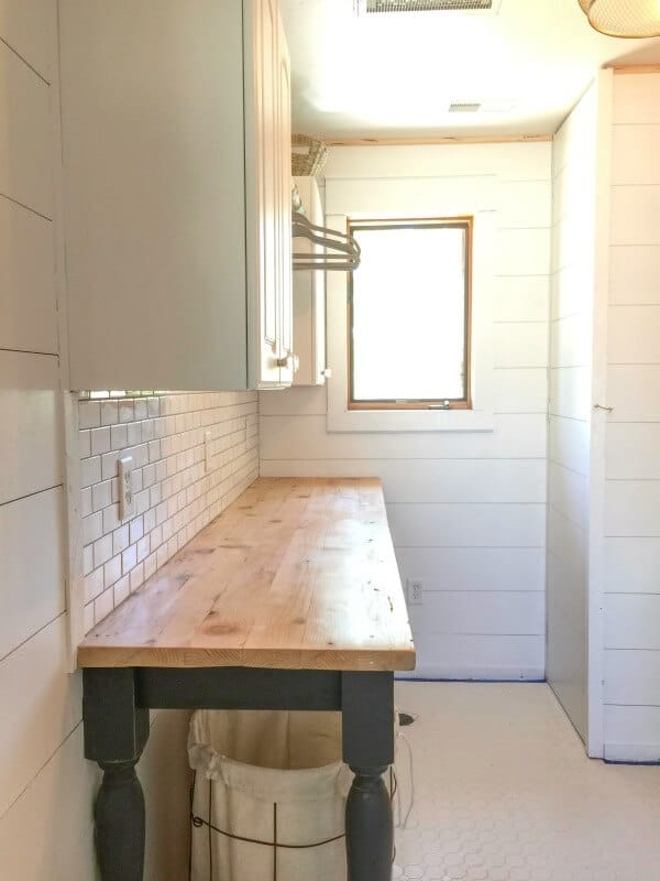 Build a folding laundry table