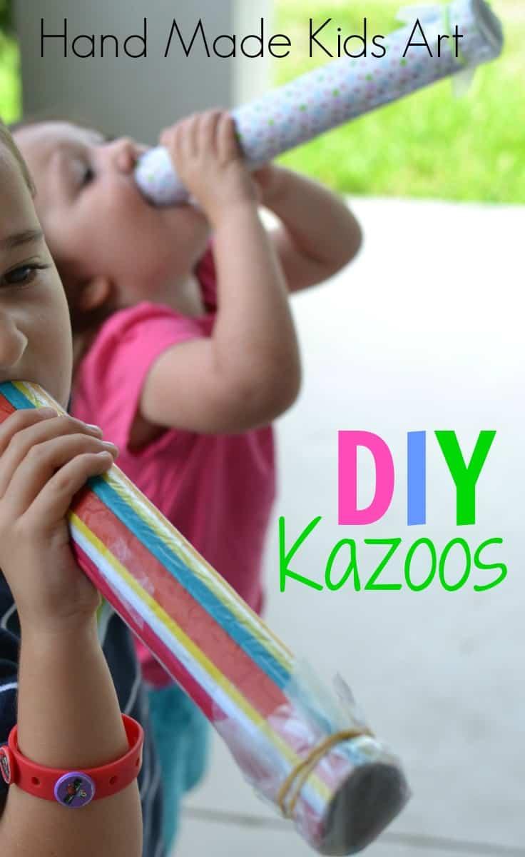 DIY kazoos