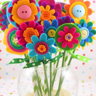 Flower Power: Cute Floral Kids' Crafts for Spring, Summer and All Year Long!