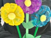 Plastic water bottle flowers 200x150 Flower Power: Cute Floral Kids' Crafts for Spring, Summer and All Year Long!