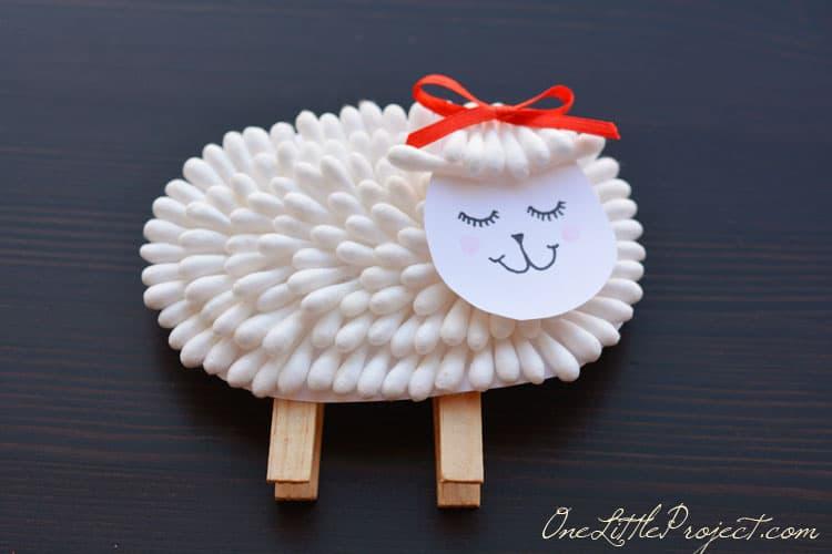 Q-tip lamb