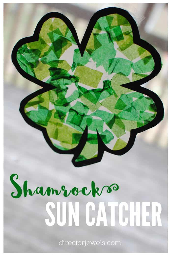 Shamrock sun catcher