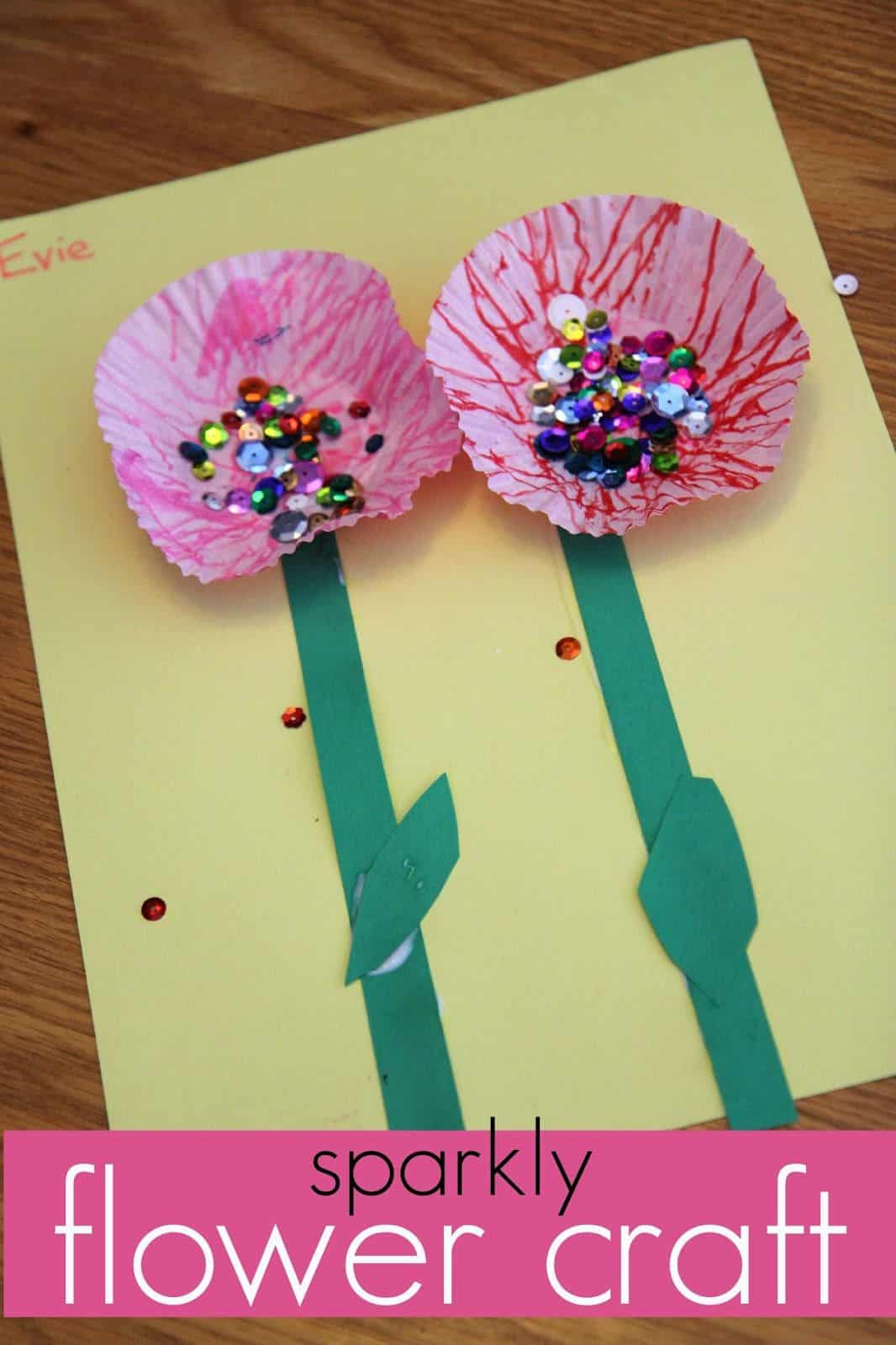 Flower Power Cute Floral Kids Crafts For Spring Summer And All