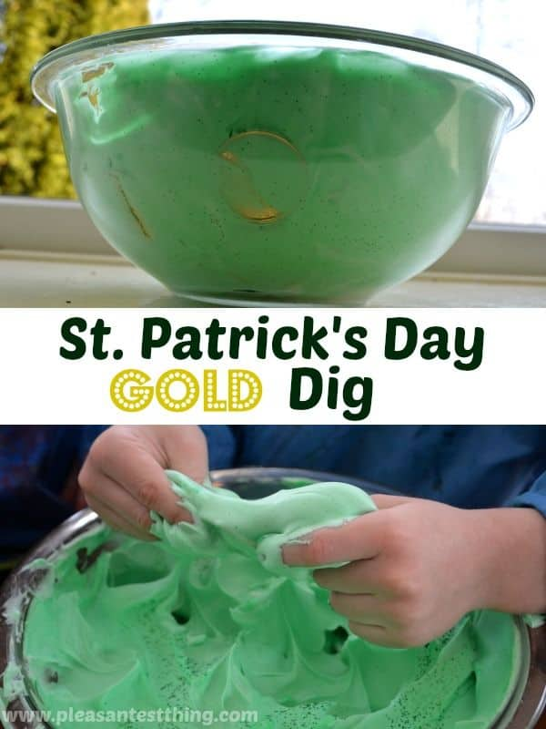 St Patrick's Day gold dig