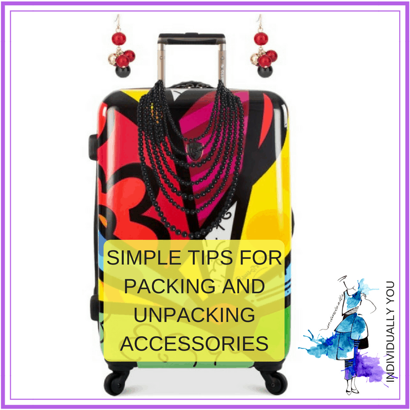 Tips for packing accessories