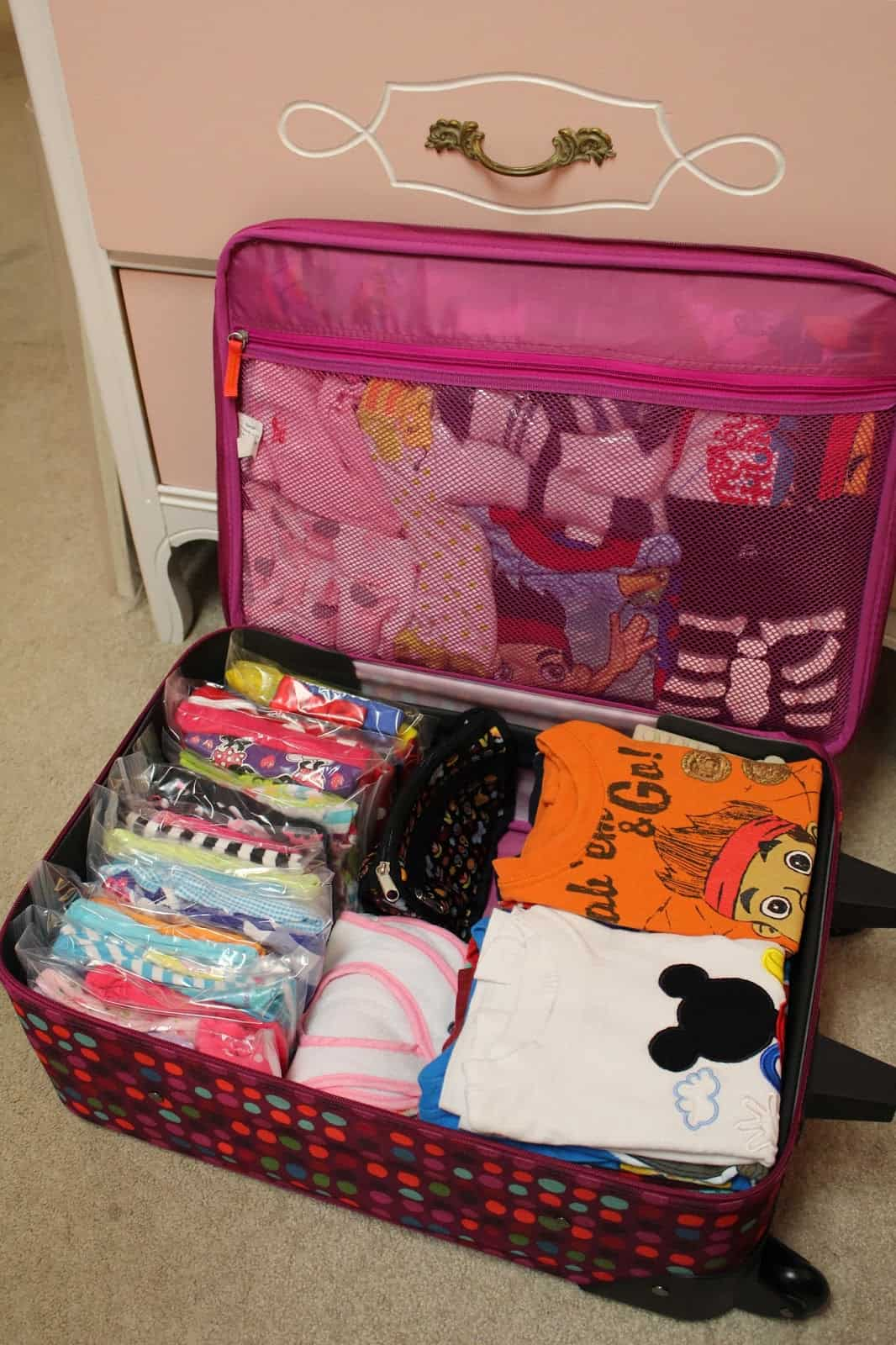 Tips for packing when you travel with kids