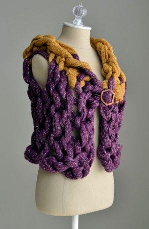 15 minute arm knit vest