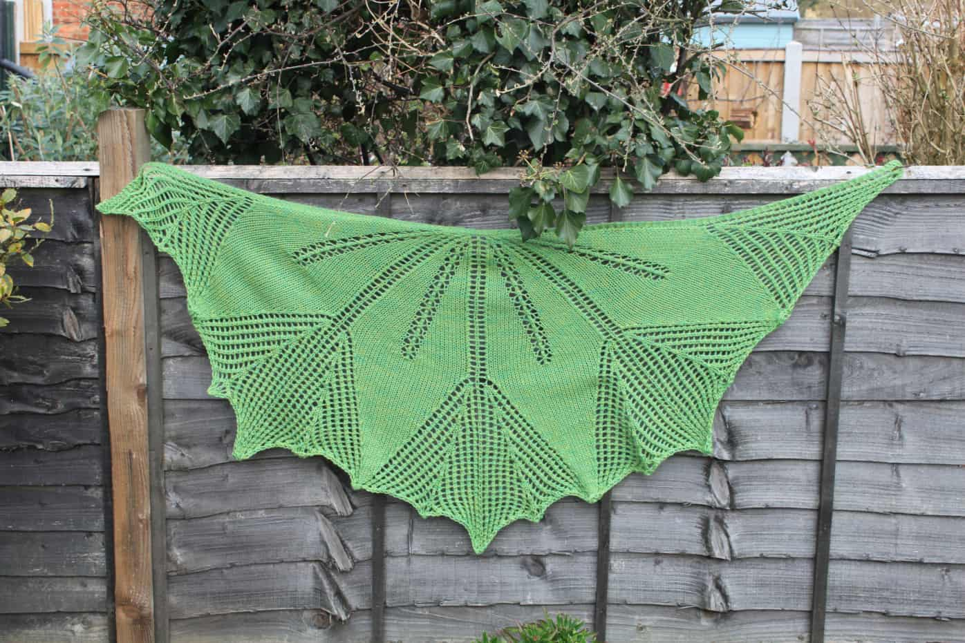 As Spring Arrives shawl