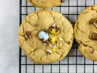 Cadbury Mini Egg chocolate chip cookies 200x150 Refreshing and Cheerful: 15 Tasty Spring Cookie Recipes
