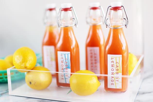 Carrot lemonade