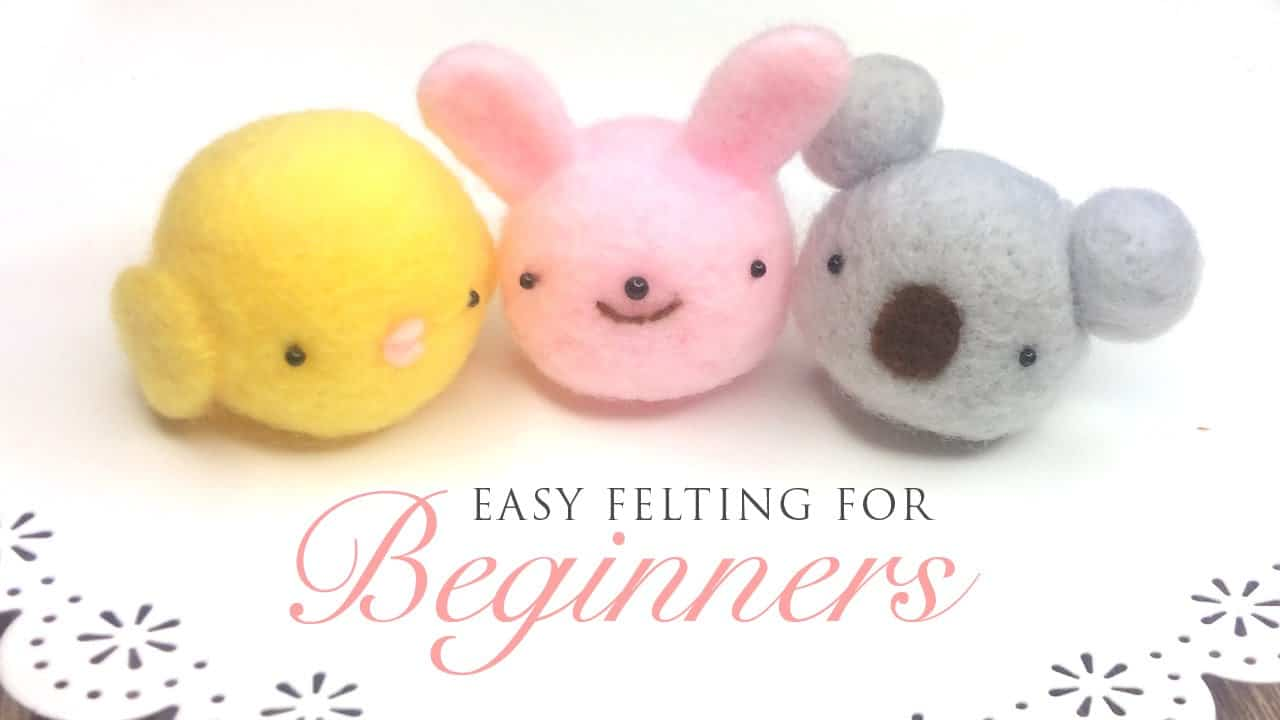 Easy rounded animals for beginners