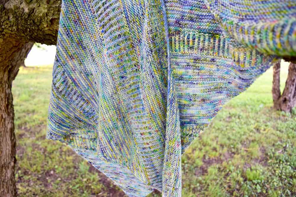 Ode to Spring shawl