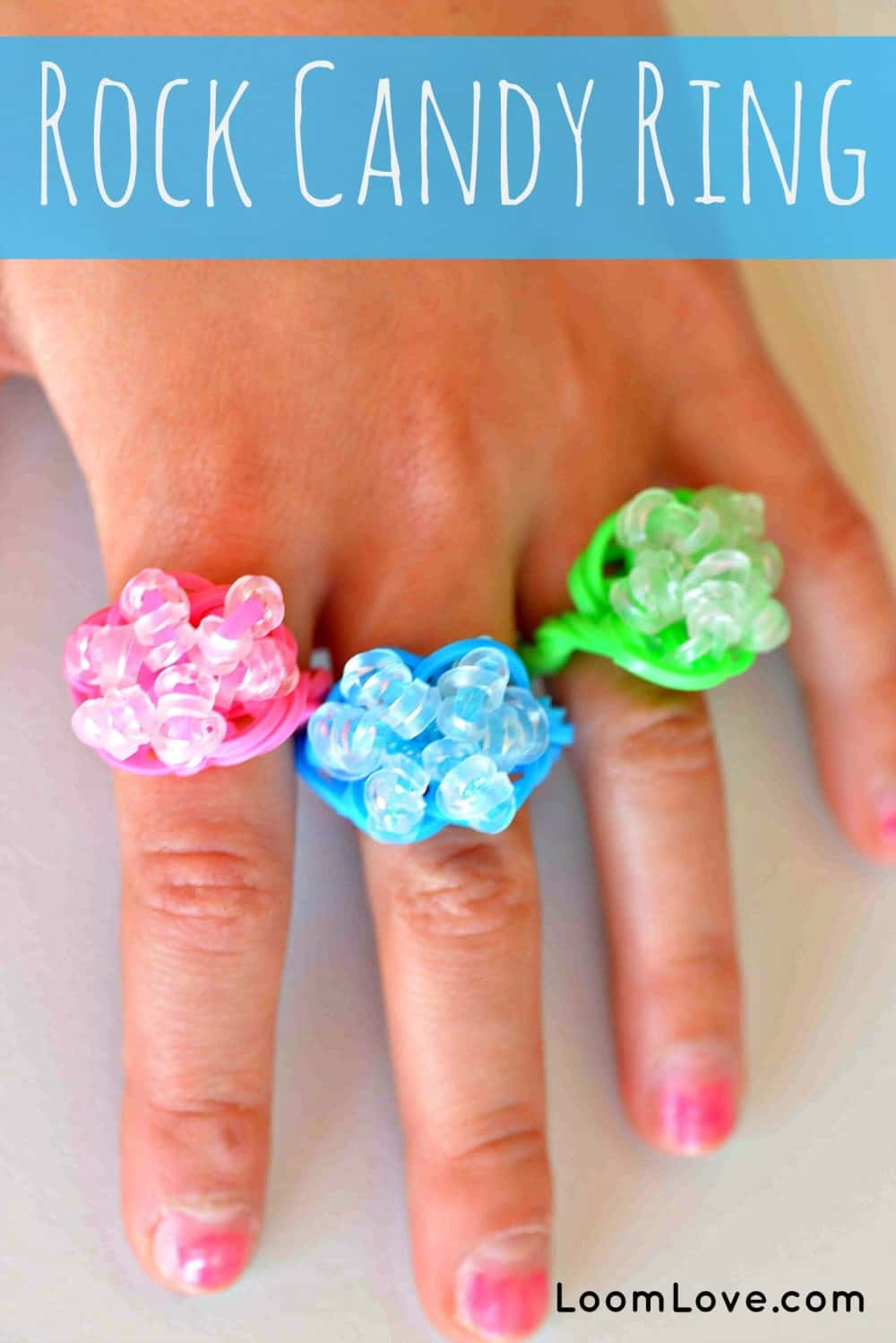 Rock candy rings