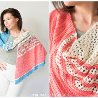 Light-Weight Fashion Statement: 15 Lovely Spring Shawl Knitting Patterns