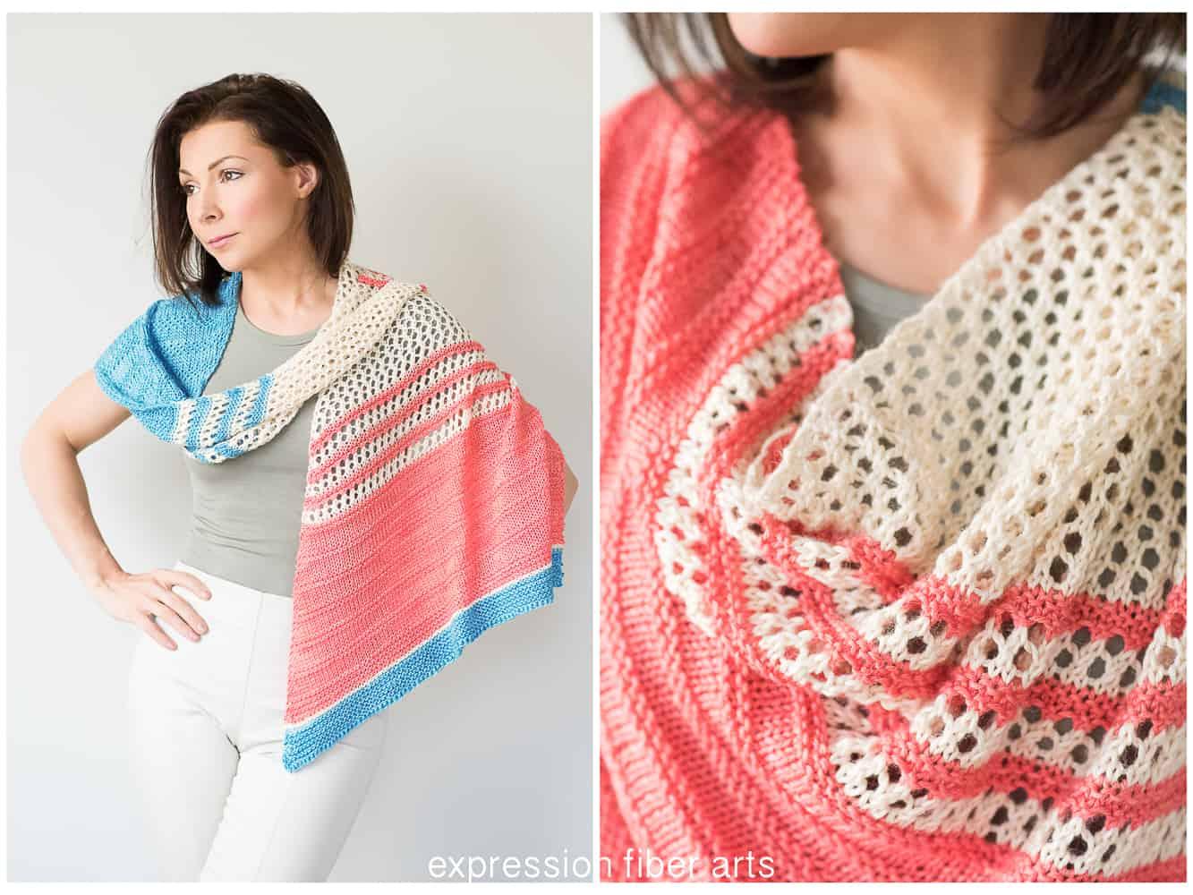 Spring Carnival shawl