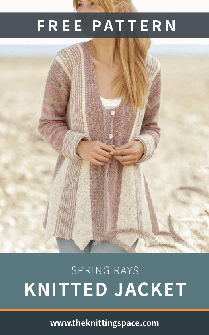 Spring Rays knitted jacket