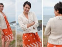 Sprout cardigan 200x150 Getting Ready for Warmer Weather: 15 Light Sweater Knitting Patterns for Spring