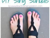 Super comfy DIY sling sandals 200x150 A Comfortable Walk: Best DIY Sandals for Spring and Summer