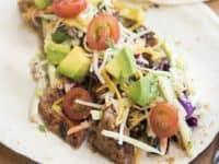 BBQ pork tacos with broccoli slaw 200x150 Mexican Feast with Modern Twist: 15 Creative Taco Recipes