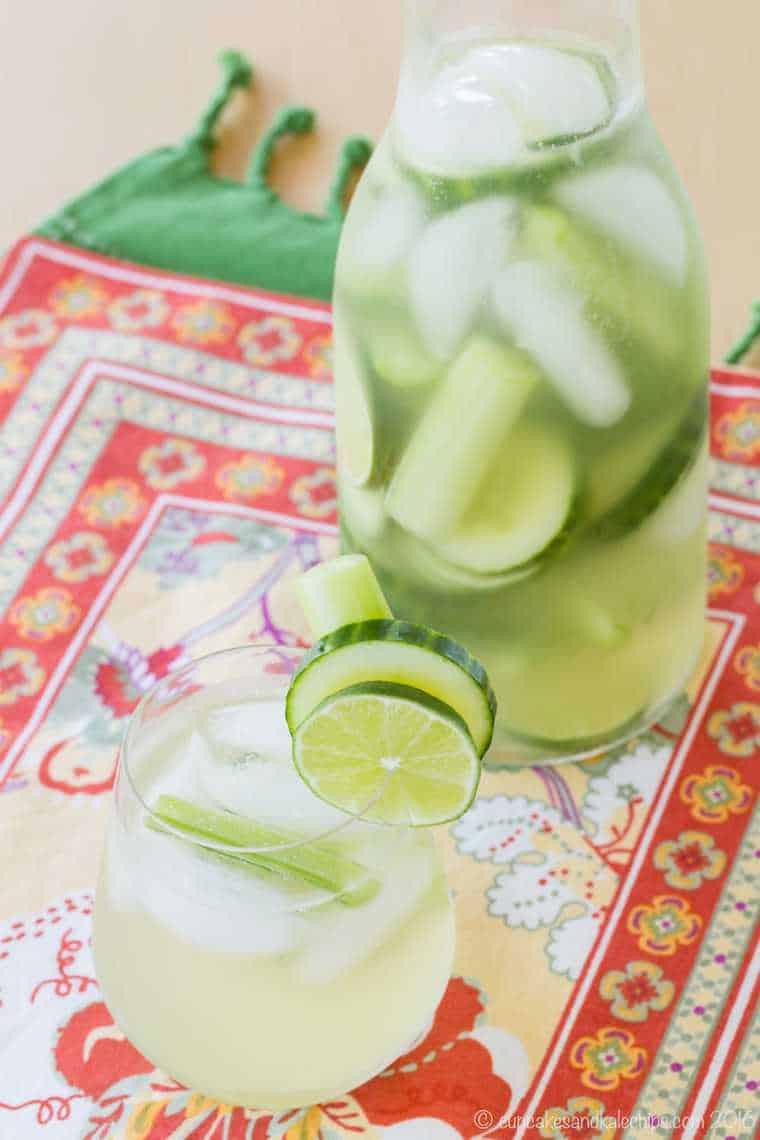 Celery cucumber gimlet white sangria