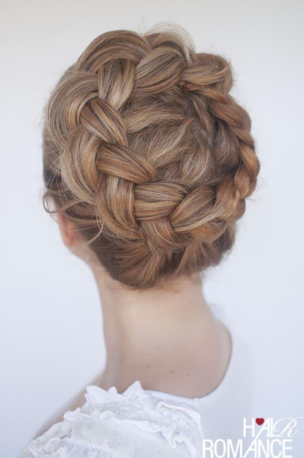 High braided crown