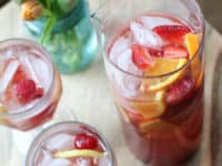 Rose sangria 200x150 Be the Perfect Host: 15 Mouthwatering Sangria Recipes for Entertaining