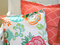 Super easy no sew pillow cover 200x150 Homemade Comfort: Gorgeous DIY Throw Pillow and Cushion Ideas