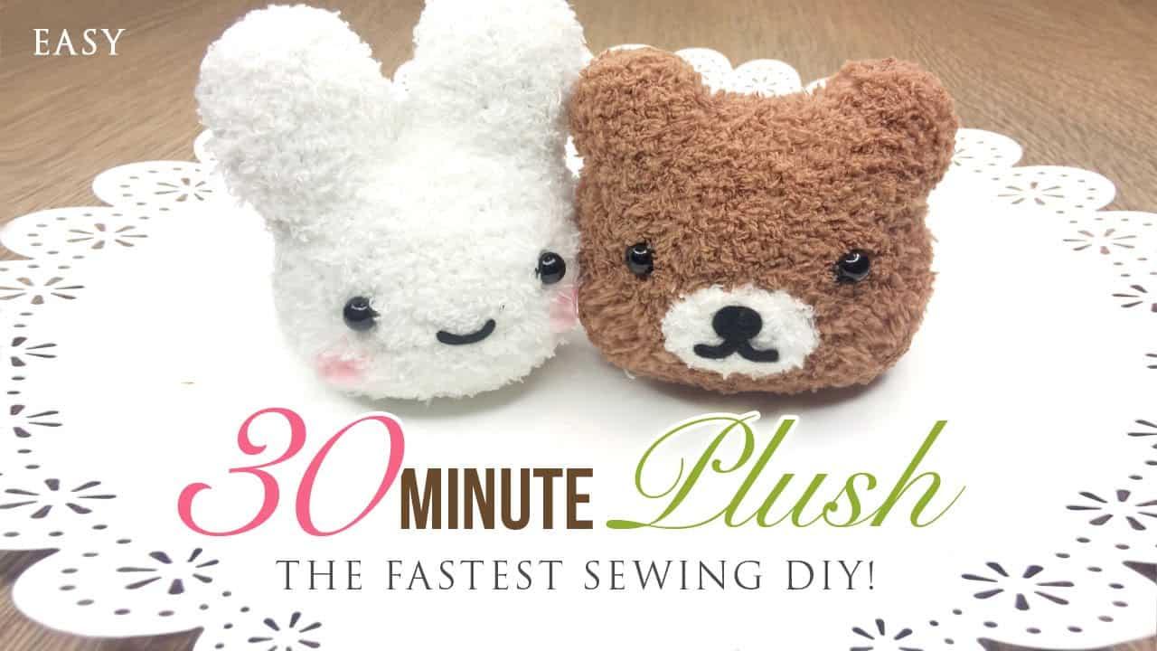 15 Cute DIY Plush Toys for Homemade Buffs