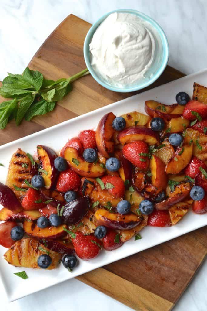 BBQ fruit salad