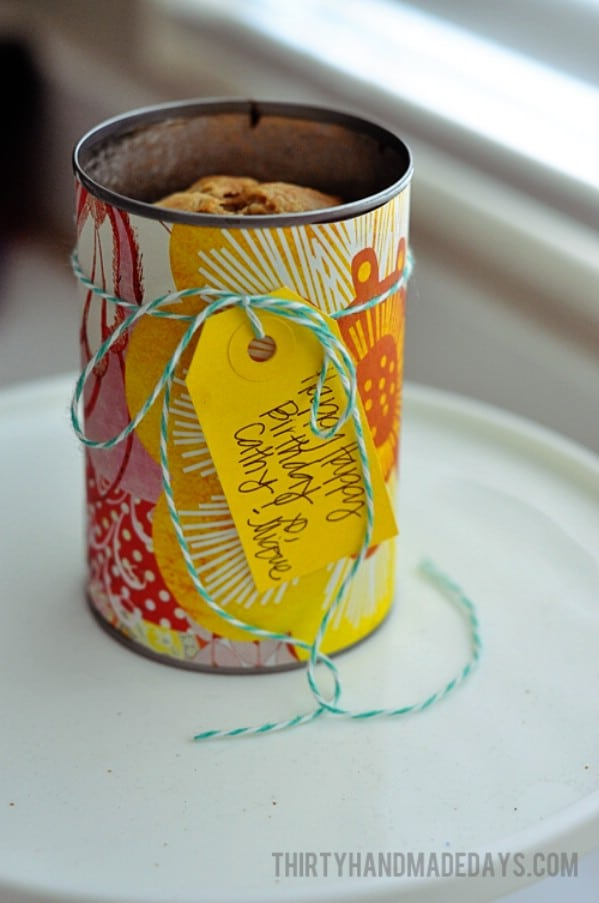 Bread baking pan 15 Creative Ways to Repurpose Coffee Cans