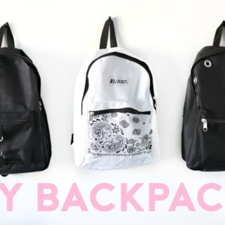 15 Best DIY Backpacks Ideas & Designs