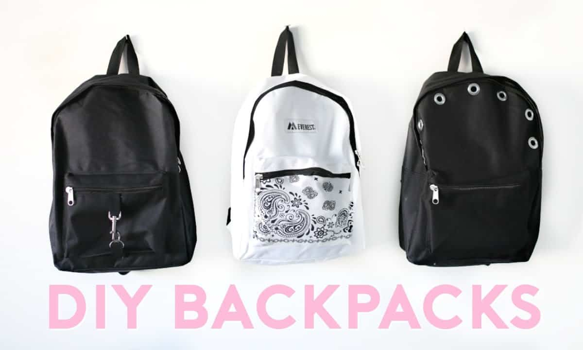 Cool embellished backpacks 15 Best DIY Backpacks Ideas & Designs