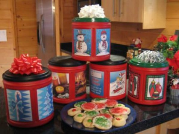 Holiday treat containers