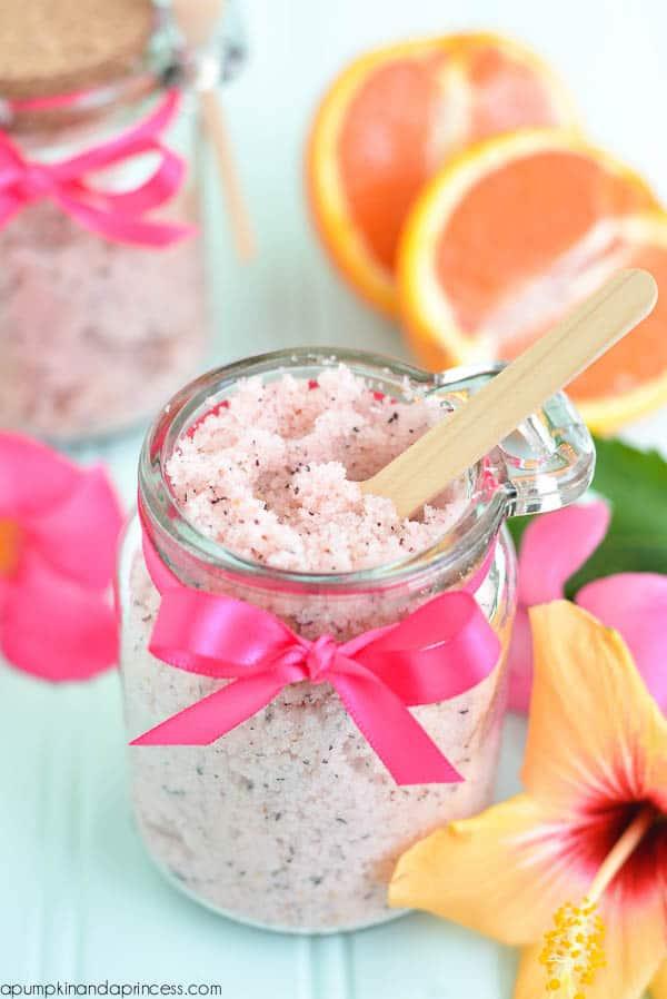 Passionfruit tea sugar scrub