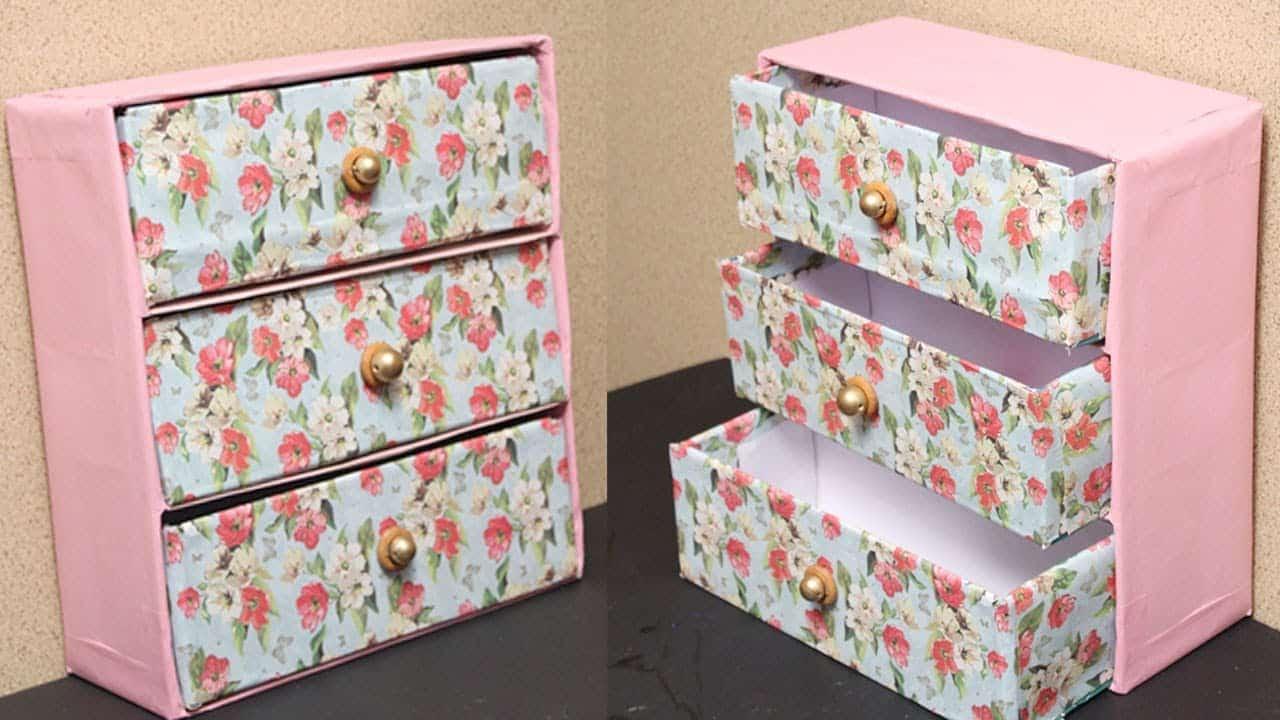Tissue box jewelry storage